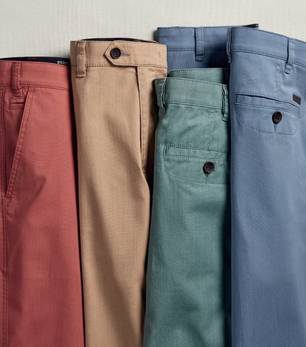 Classic Fit Trousers
