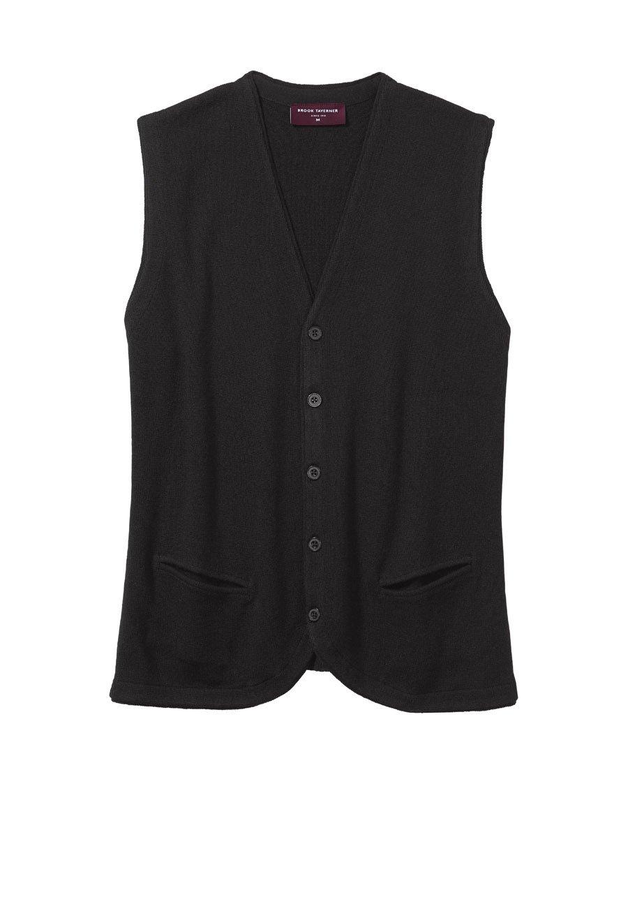 Black Ribble Waistcoat