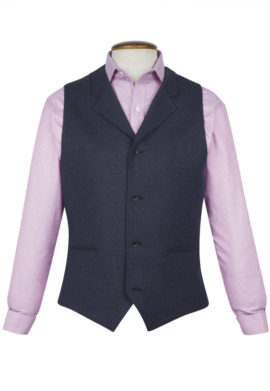 Image of Alconbury Three-Piece Fashion Fit Suit Waistcoat
