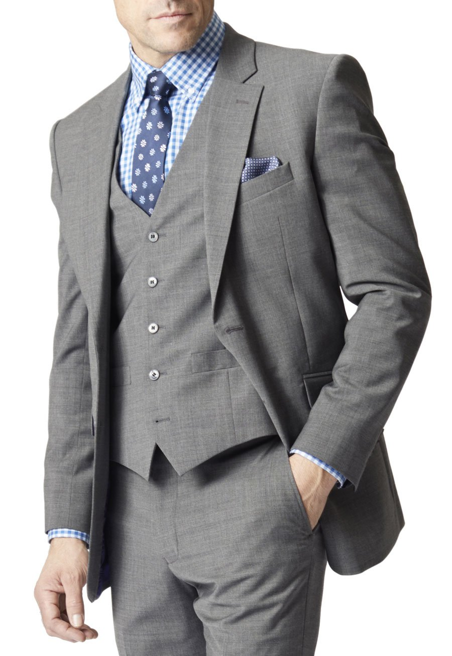Avalino Grey Suit Jacket