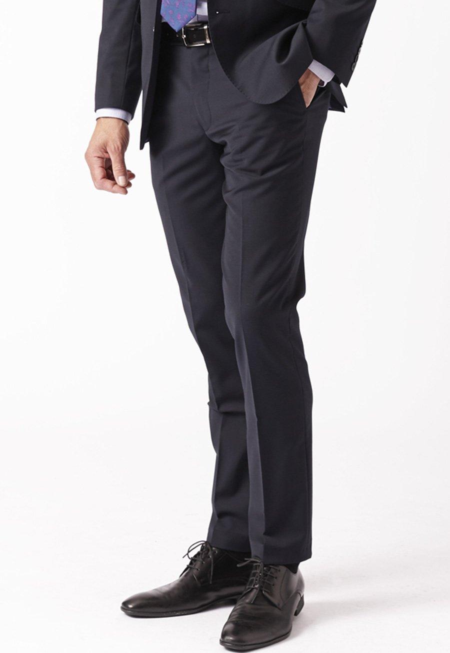 Men's Suits Navy Cassino Fashion Fit Washable Suit Trousers