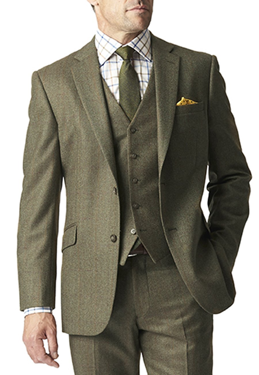 1920s Mens Suits Chedworth Three Piece Suit Jacket £280.00 AT vintagedancer.com