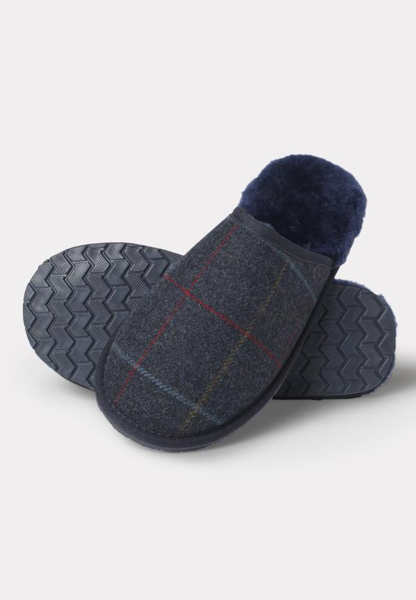 Haincliffe Tweed Slippers