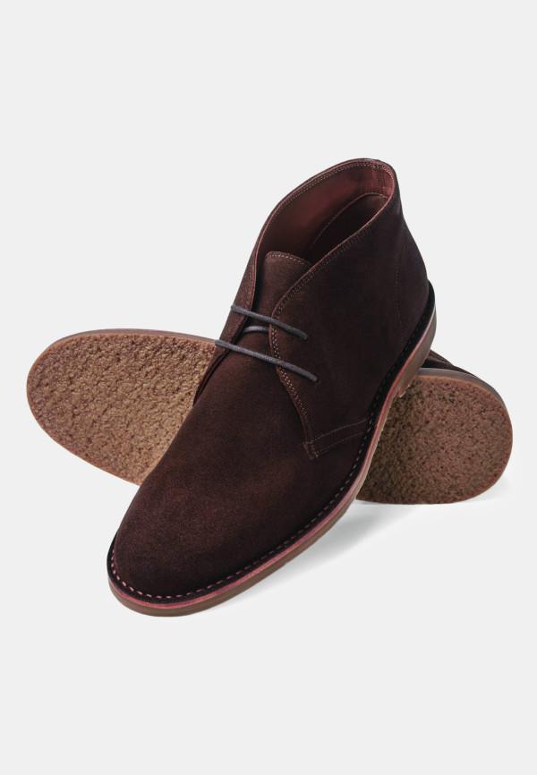 Aysgarth Brown Suede Desert Boot