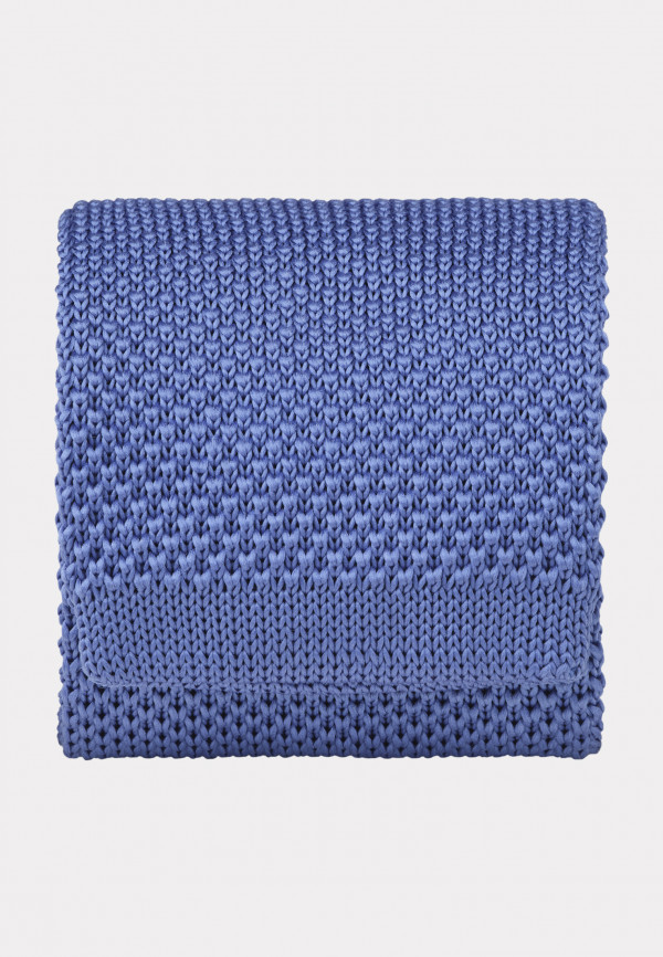 Sky Blue Knitted Tie