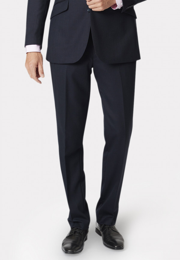 Dawlish Navy Birdseye Suit Trouser