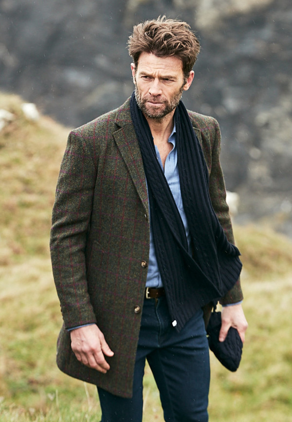 Duncan Harris Tweed Overcoat