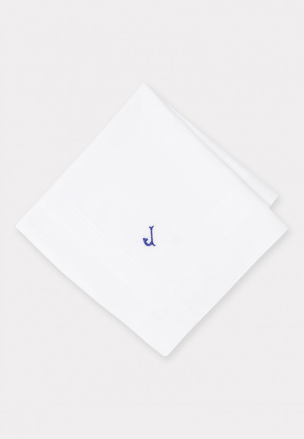Handkerchief Monogrammed with Initial 'J' - Presentation Pack of Three