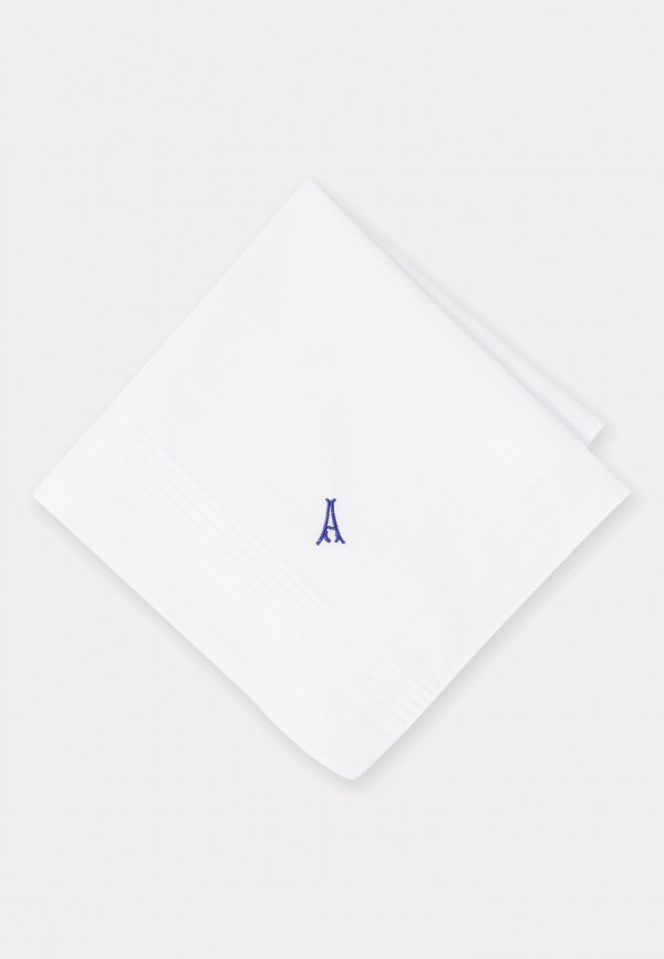 Handkerchief Monogrammed with Initial 'A' - Presentation Pack of Three