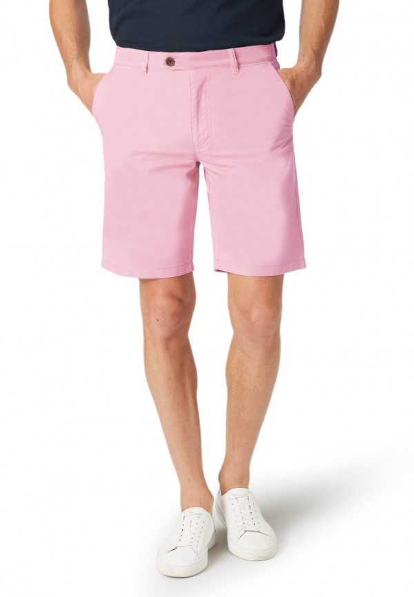 Ribblesdale Baby Pink Cotton Stretch Summer Shorts