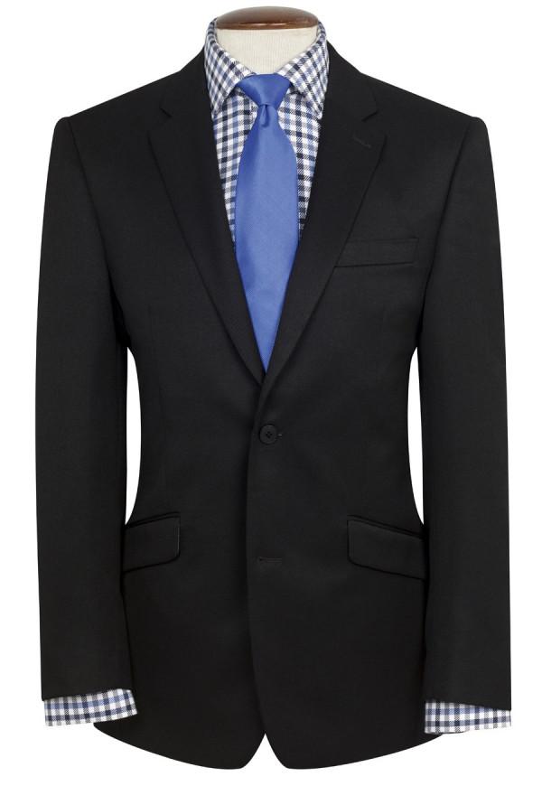 Black Zeus Machine Washable Suit Jacket