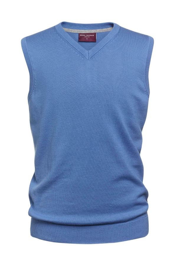 Detroit Light Blue V-neck Slipover