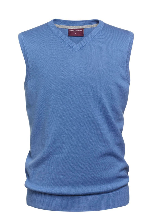 Detroit Light Blue V-neck Slipover