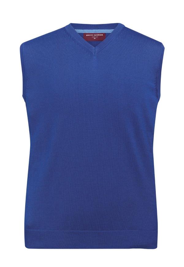 Detroit Royal Blue V-neck Slipover