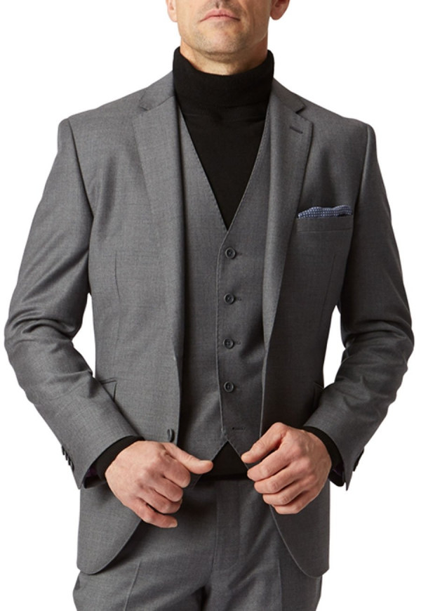 Grey Wilson Suit Jacket
