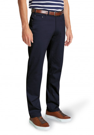Brunswick Navy Stretch CottonTailored Fit Chino