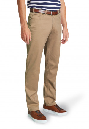 Brunswick Sand Stretch CottonTailored Fit Chino