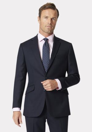 Dawlish Navy Birdseye Super 110's Suit