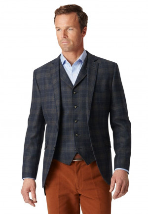 Temo Fashion Fit Check Jacket