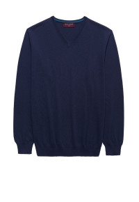 Navy Arun V-Neck