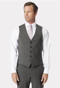 Grey Avalino Crease Resistant Washable Waistcoat