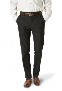 Dijon Black Tailored Fit Three Piece Suit Trouser