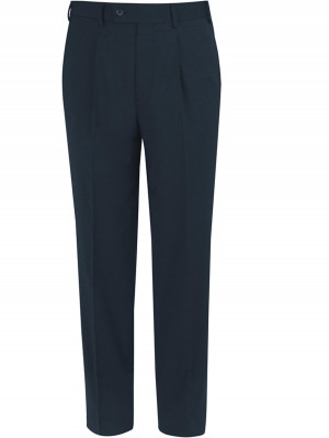 Black Giglio Tailored Fit Washable Suit Trousers
