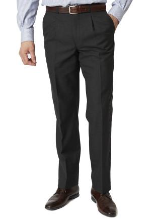 Charcoal Branmarket Classic Fit Wool Blend Trouser