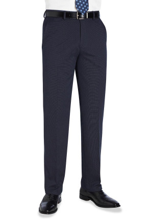 Navy Pin Dot Phoenix Tailored Fit Suit