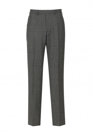 Royston Double Breasted Charcoal Check Suit Trouser