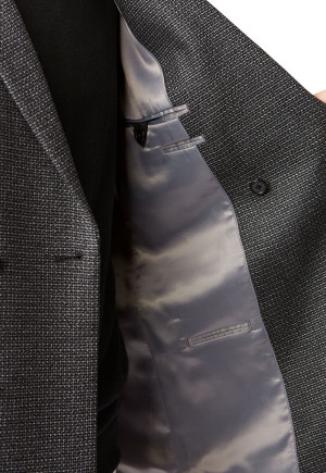 Adur Double Breasted Tailored Fit Jacket