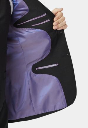 Avalino Charcoal Three Piece Travel Suit - Waistcoat Optional