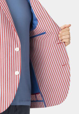 Brimham 'Cotton' Stripe Tailored Fit Jacket