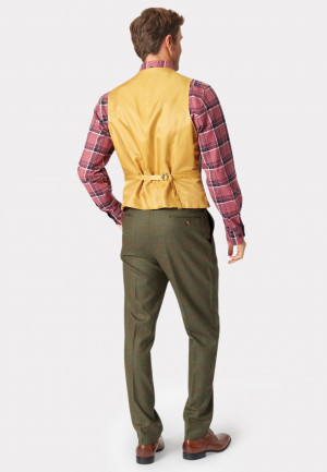 Dalton Tweed Three Piece Suit Waistcoat