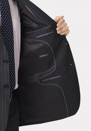 Epsom Grey Pinstripe Suit Jacket