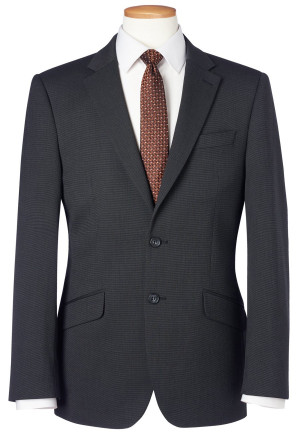 Charcoal Pin Dot Phoenix Tailored Fit Suit