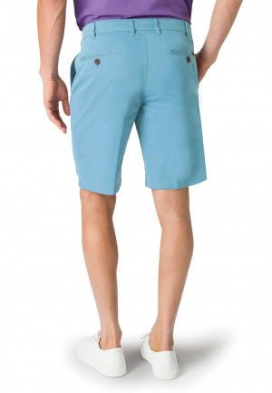 Ribblesdale Aqua Cotton Stretch Summer Shorts