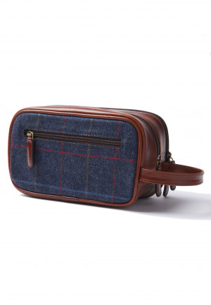 Haincliffe Tweed Washbag