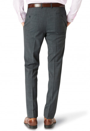 Charcoal Watson Puppytooth Trouser