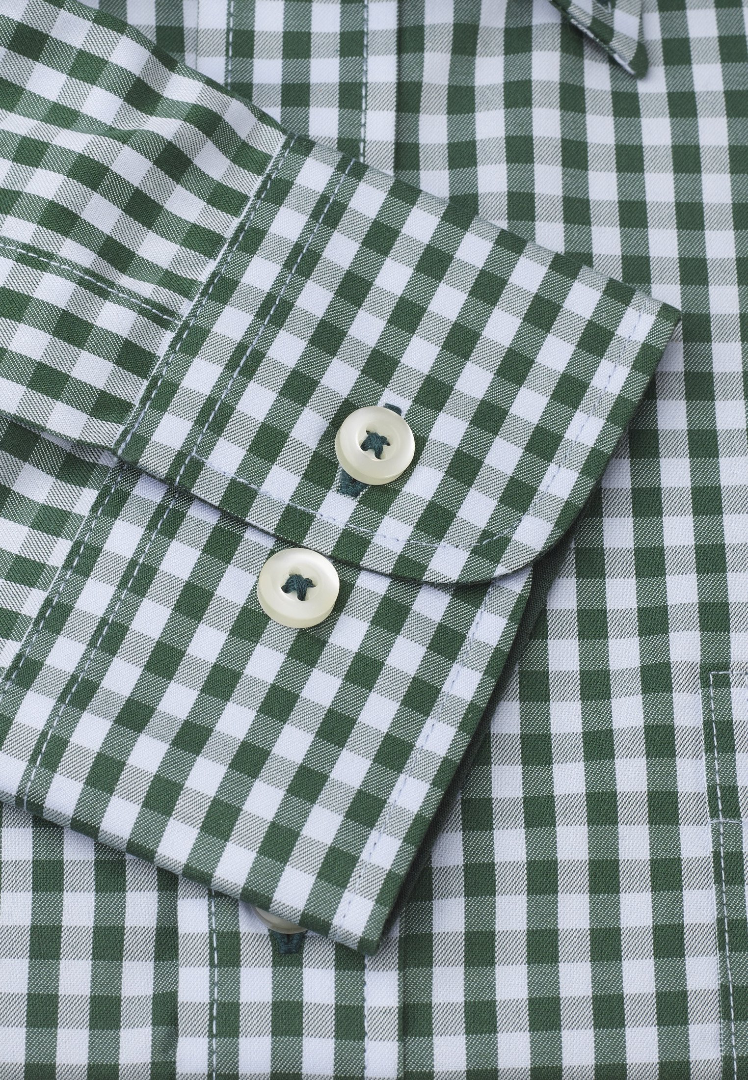 Tailored Fit Forest Gingham Shirt