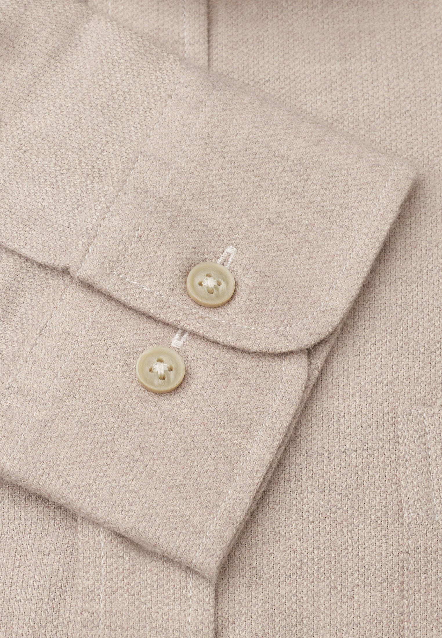 Sand Supersoft Cotton Melange Shirt