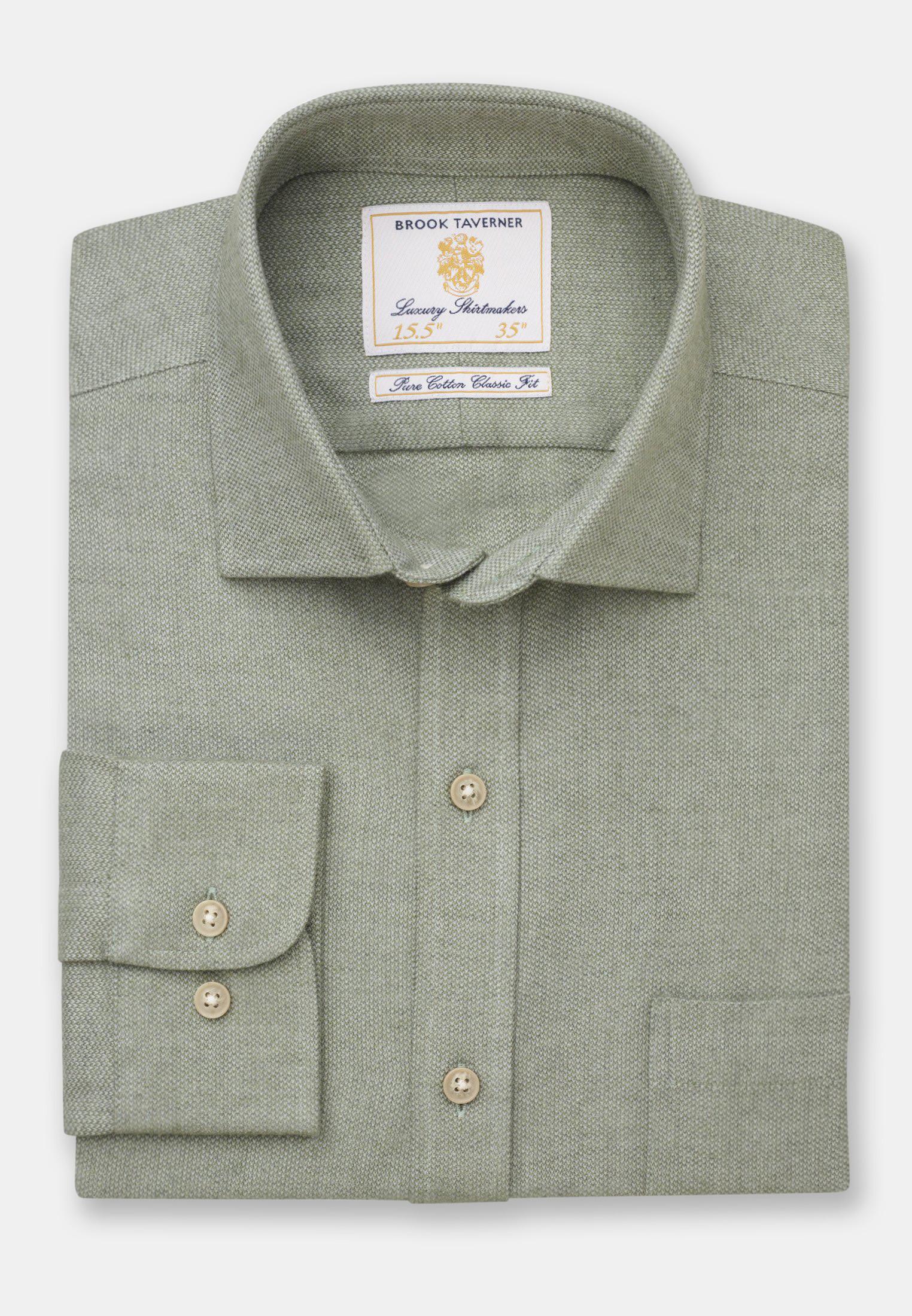 Fern Supersoft Cotton Melange Shirt
