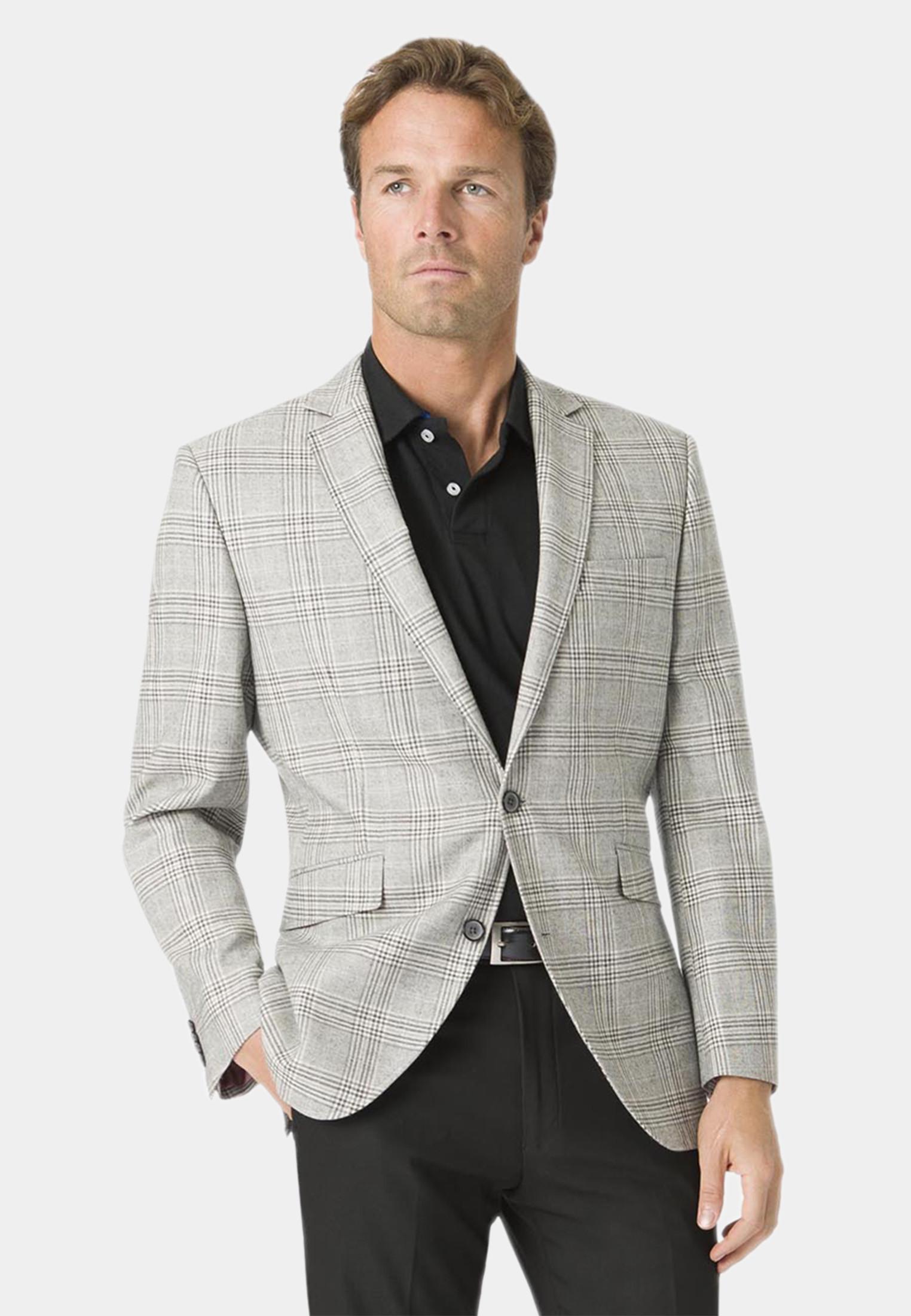 Alderley Grey Check Jacket