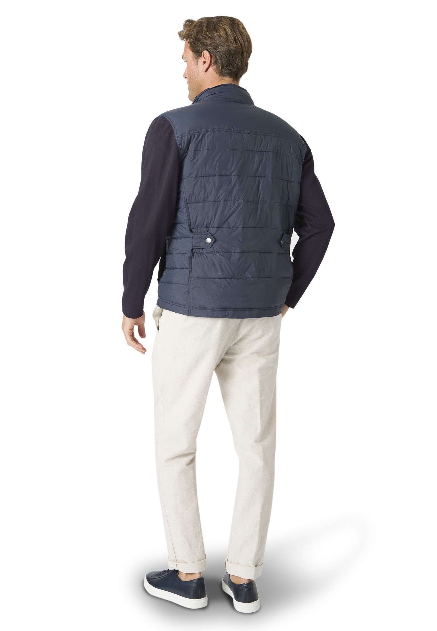 Amis Hybrid Quilt Casual Jacket