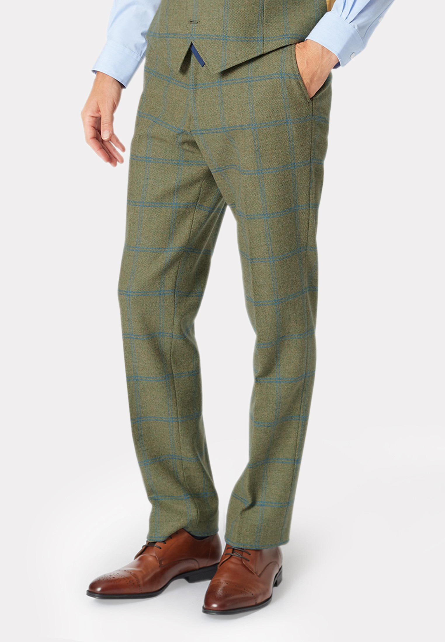 Ascott Tweed Three Piece Suit Trouser