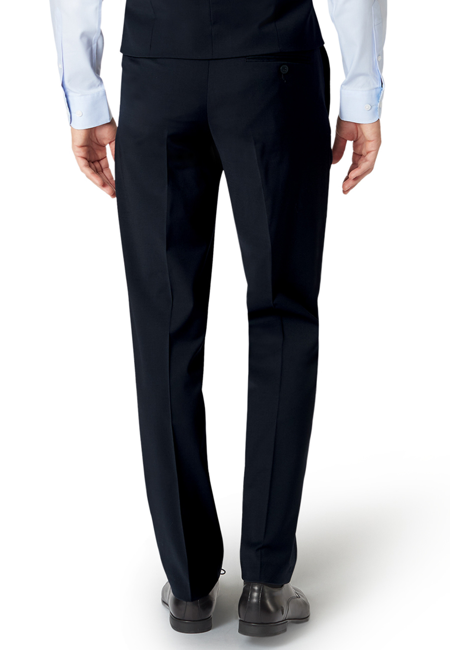 Imola Navy Suit Trousers