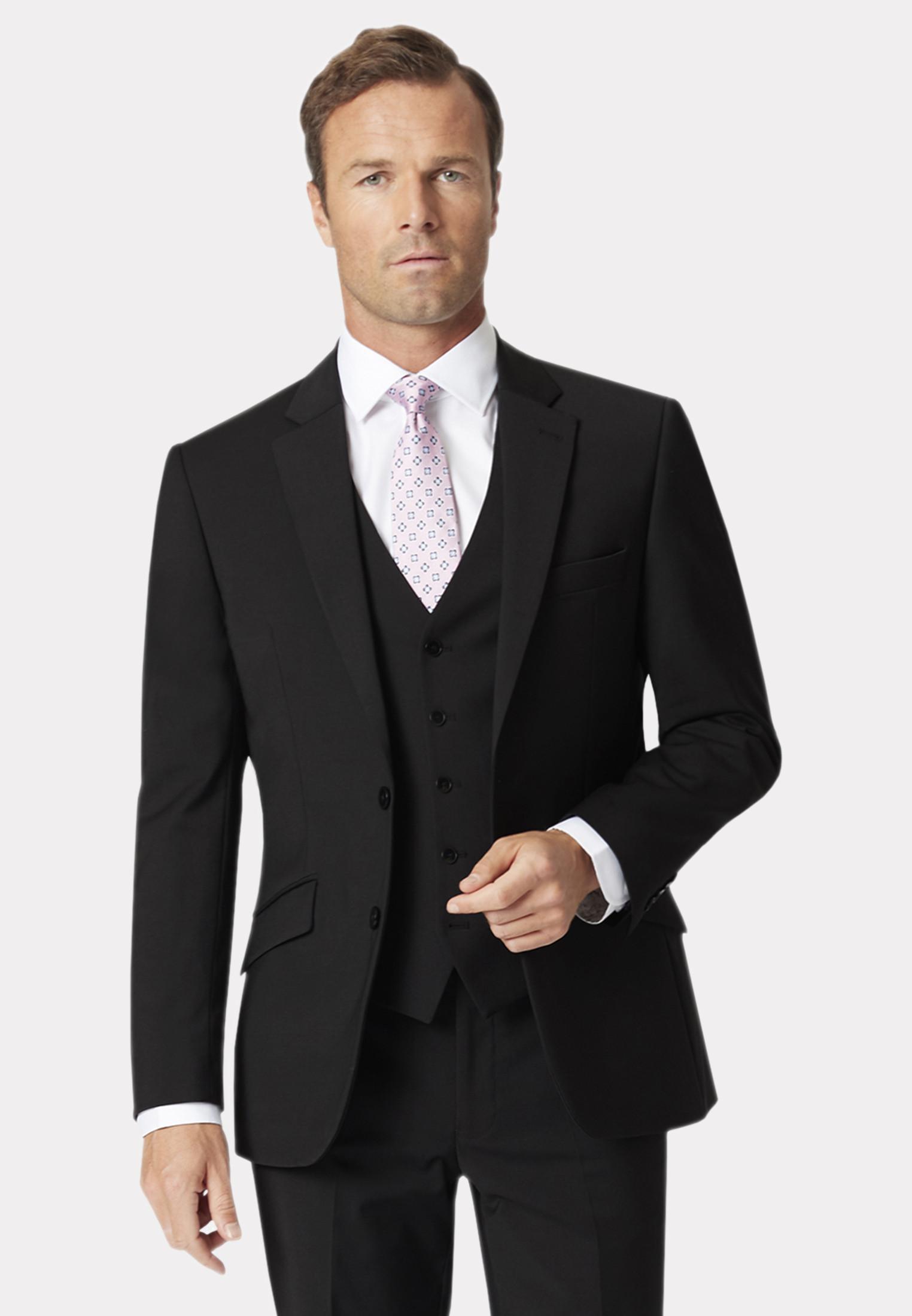 Avalino Black Suit Jacket