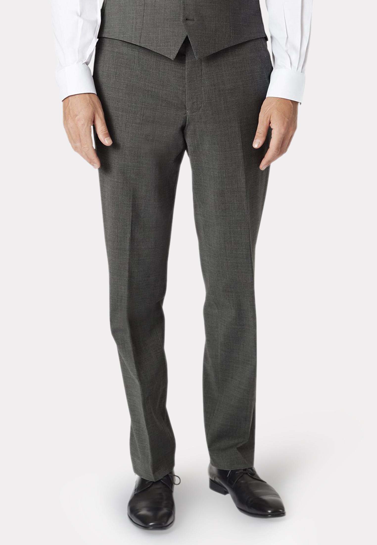 Avalino Grey Three Piece Travel Suit  - Waistcoat Optional