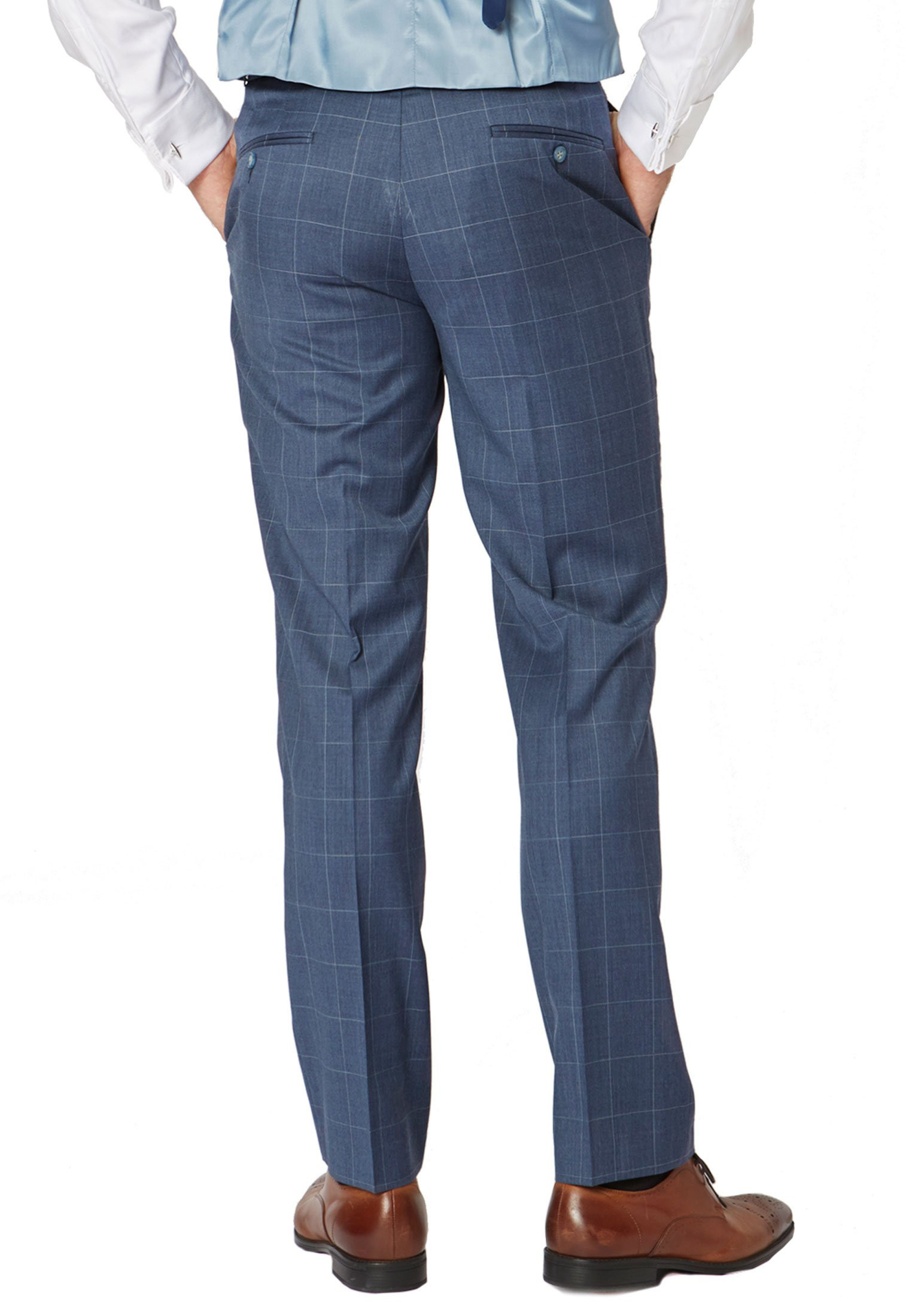 Bevan Pure New Wool Suit Trouser