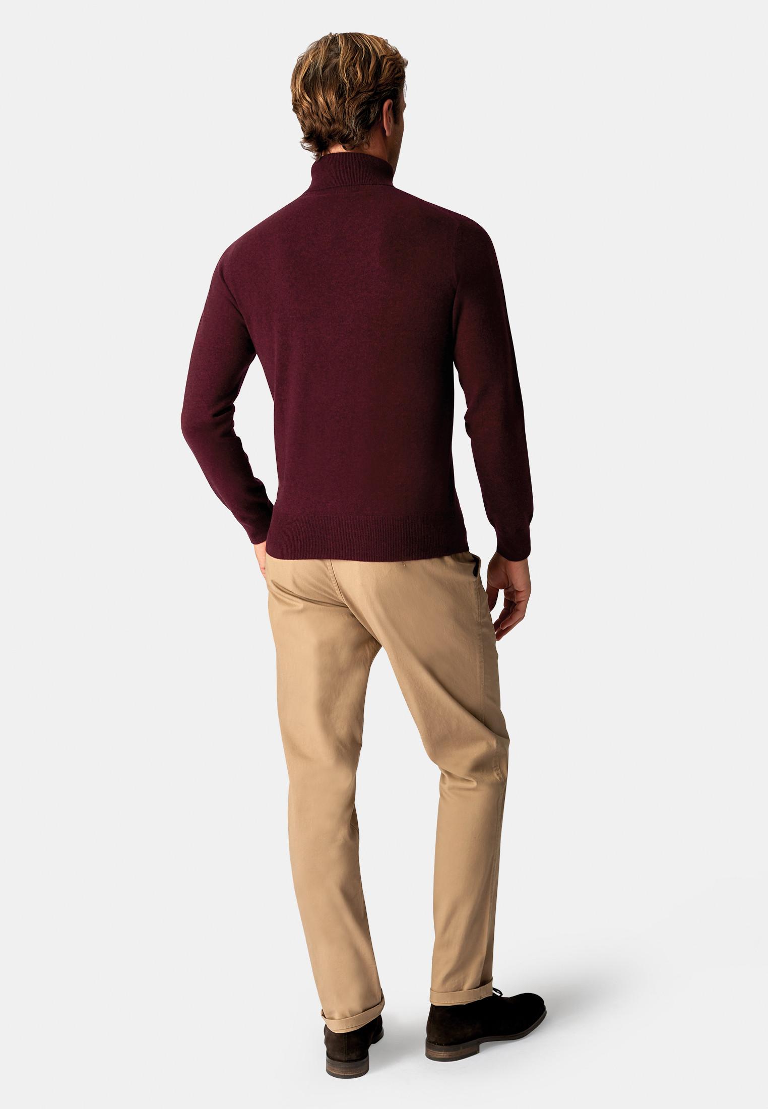Shiraz Cashmere 14 Gauge Roll Neck Jumper